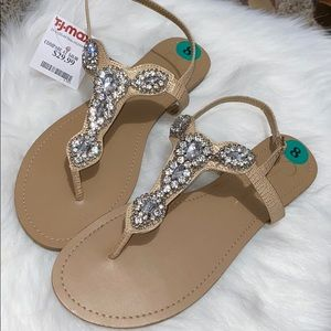 Glitzy Sandals